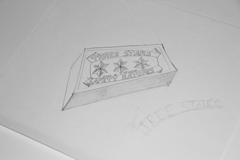 Drawing of matchbox (second one)